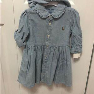 Ralph Lauren little girls polo dress